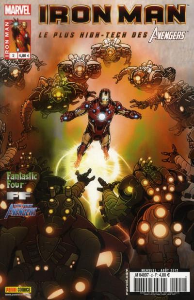 Couverture Iron man - le plus high tech des avengers tome 2