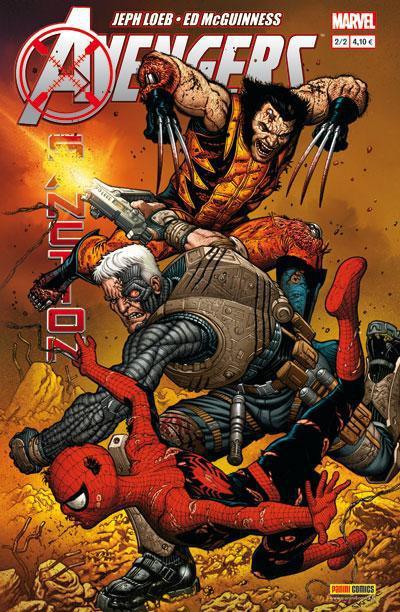 Couverture Avengers : x-sanction tome 2