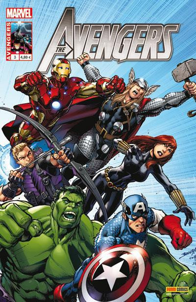 Couverture Avengers N.3