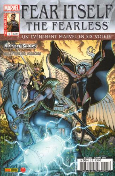 Couverture fear itself : the fearless 05