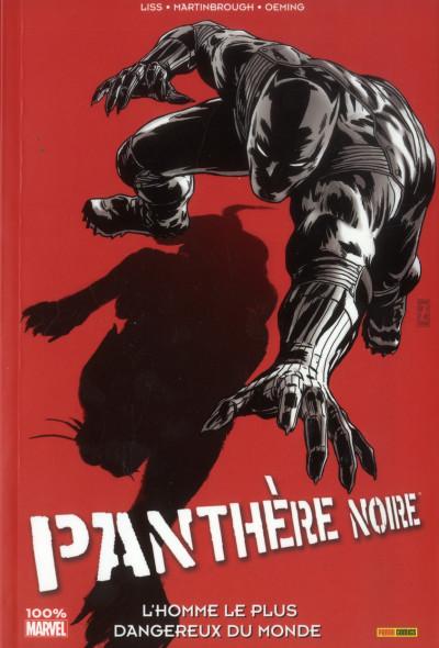 Couverture la Panthère Noire T.3 - l'homme le plus dangereux du monde