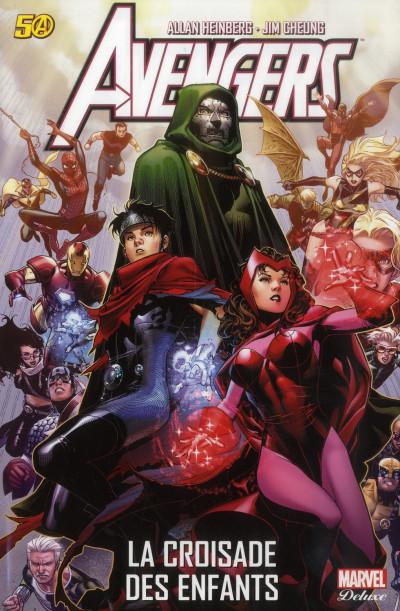 Couverture Avengers ; la croisade des enfants ; le retour de la sorcière rouge