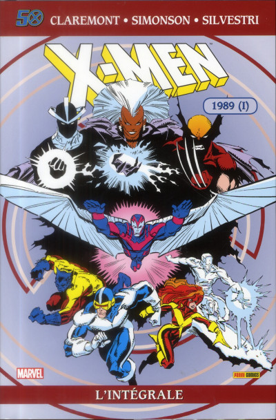 Couverture X-Men - INTEGRALE VOL.24 - 1989 tome 1