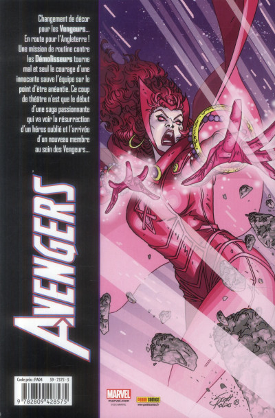 Dos Avengers tome 4