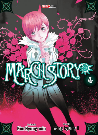 Couverture march story tome 4