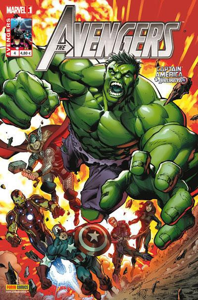 Couverture Avengers 2012 tome 4