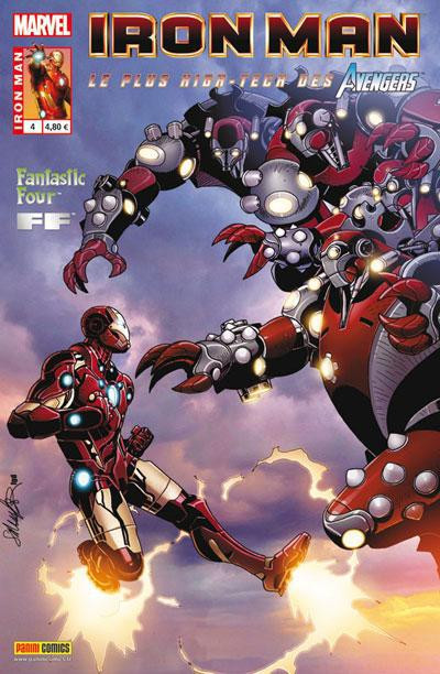 Couverture Iron man - le plus high tech des avengers tome 4
