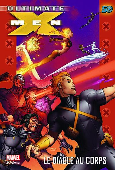 Couverture ultimate X-Men T.7 - le diable au corps