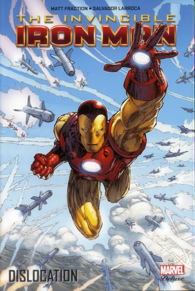 Couverture The invincible Iron Man tome 2 - Dislocation