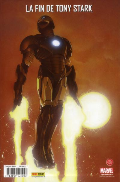 Dos The invincible Iron Man tome 2 - Dislocation
