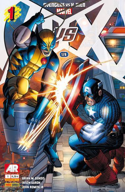 Couverture Avengers Vs X-Men tome 1
