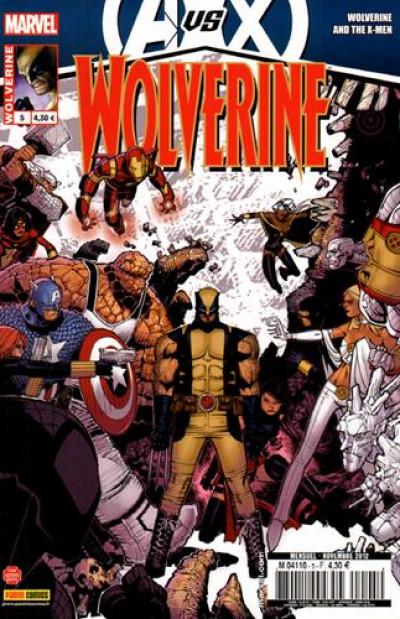 Couverture Wolverine 2012 tome 5  Avengers Vs X-Men