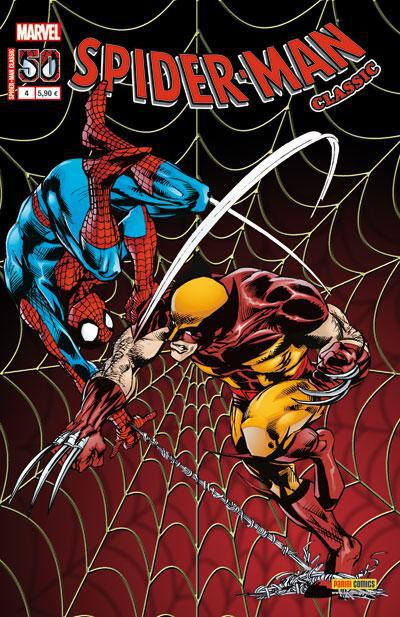 Couverture Spider-man classic tome 4