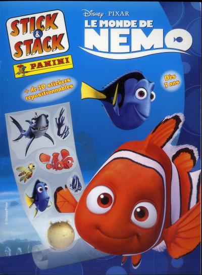 Couverture le monde de Nemo