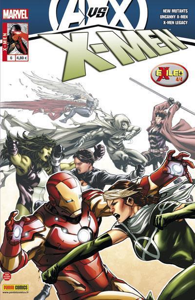 Couverture X-men 2012 tome 6