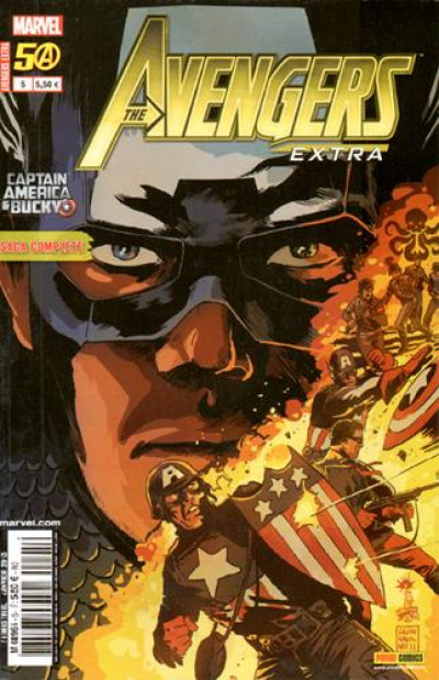 Couverture Avengers Extra tome 5