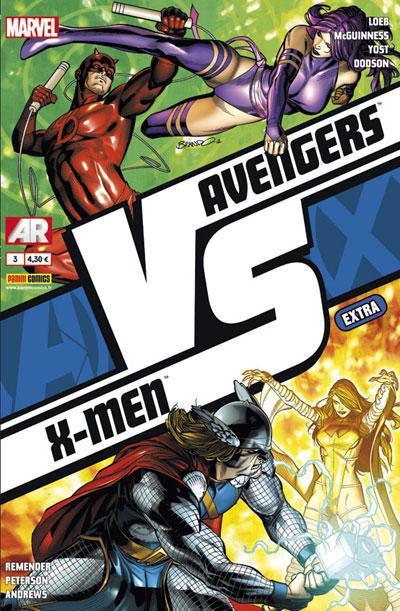 Couverture Avengers VS X-Men extra tome 3