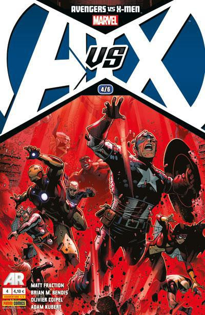 Couverture Avengers Vs X-Men tome 4 - cover 1/2
