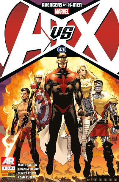 Couverture Avengers VS X-Men tome 4 - Cover 2/2