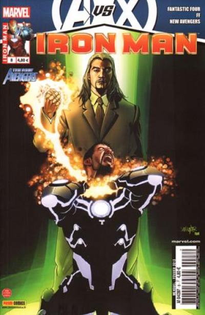 Couverture Iron man 2012 tome 8  avengers vs x-men