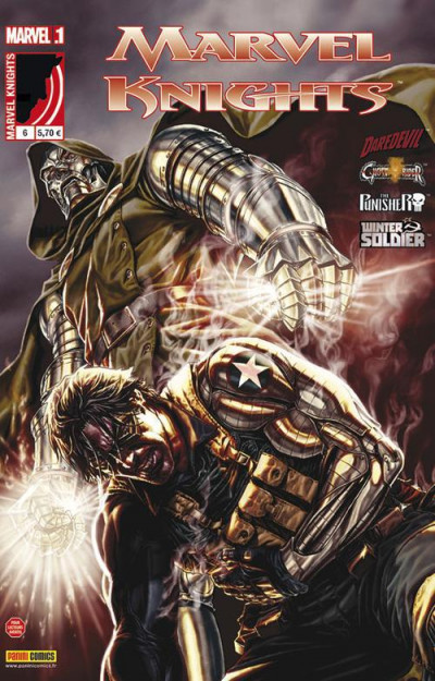 Couverture Marvel Knights tome 6