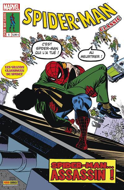 Couverture Spider-man classic tome 5