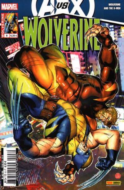 Couverture Wolverine N.2012/8 ; Avengers vs X-Men