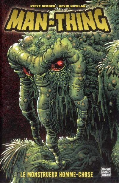 Couverture man-thing ; le monstrueux homme-chose
