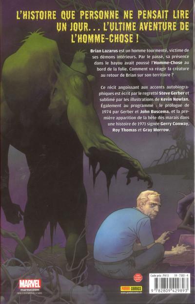 Dos man-thing ; le monstrueux homme-chose