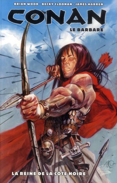 Couverture Conan le barbare tome 1 - la reine de la côte noire