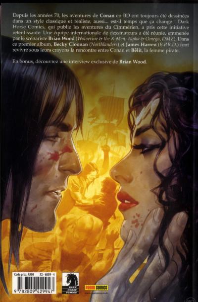 Dos Conan le barbare tome 1 - la reine de la côte noire