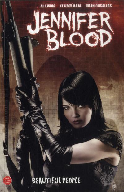 Couverture Jennifer Blood tome 2 - beautiful people