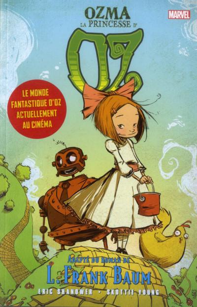 Couverture Le magicien d'Oz tome 2 - Ozma la princesse
