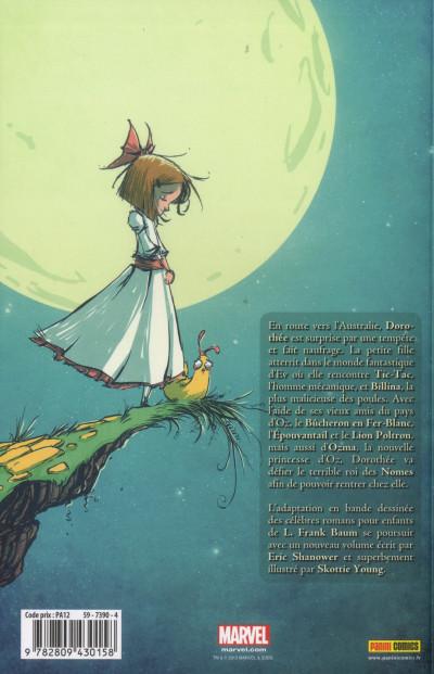 Dos Le magicien d'Oz tome 2 - Ozma la princesse
