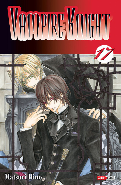 Couverture vampire knight tome 17