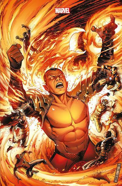 Couverture Avengers VS X-Men tome 4 - Collector