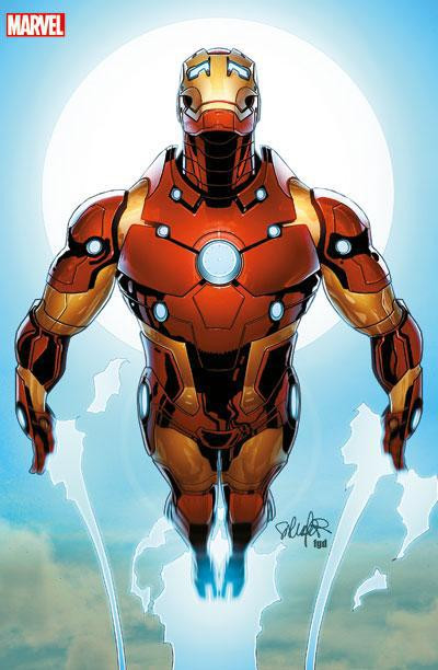 Couverture Iron man 2012 tome 8 - VC
