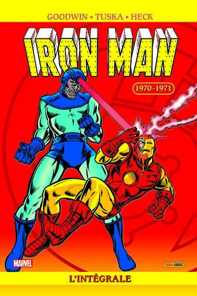Couverture Iron man - intégrale tome 6 - 1970-1971