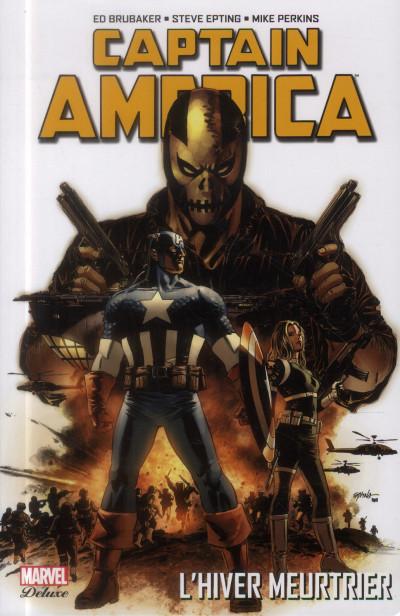 Couverture Captain America  - l'hiver meurtrier