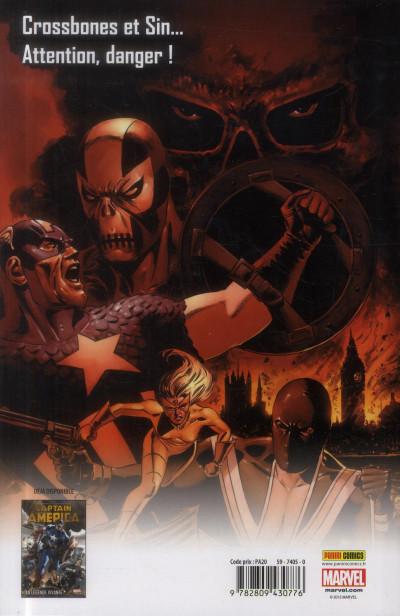 Dos Captain America  - l'hiver meurtrier