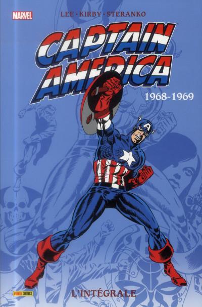 Couverture Captain America - intégrale tome 3 - 1968-1969