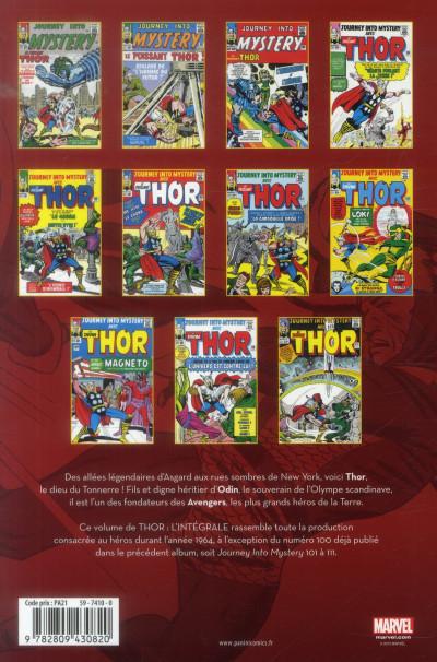 Dos Thor ; INTEGRALE VOL.6 ; 1964