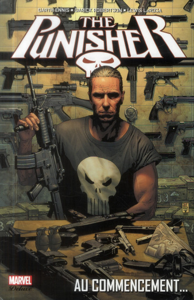 Couverture the Punisher T.1 - au commencement...