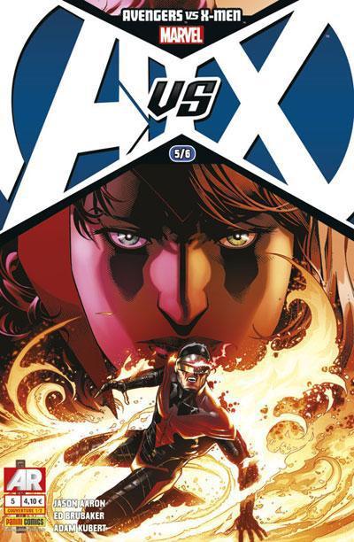 Couverture Avengers Vs X-Men tome 5