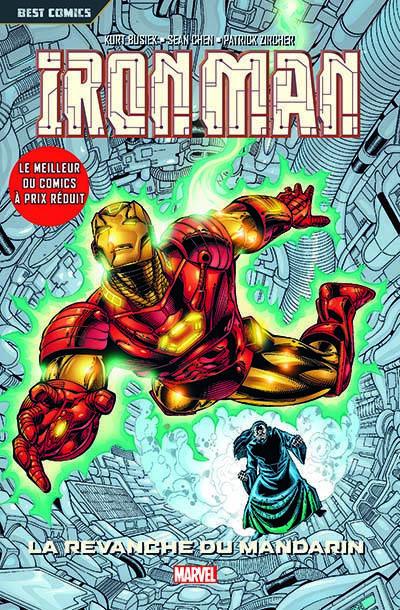 Couverture Iron Man t.3 - la revanche du mandarin