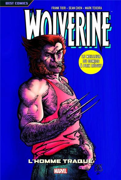 Couverture Wolverine tome 3 - l'homme traqué