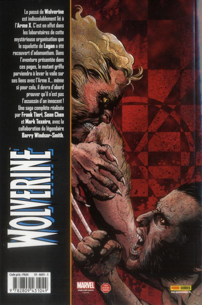 Dos Wolverine tome 3 - l'homme traqué
