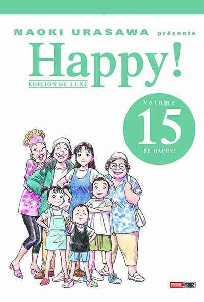 Couverture happy ! tome 15