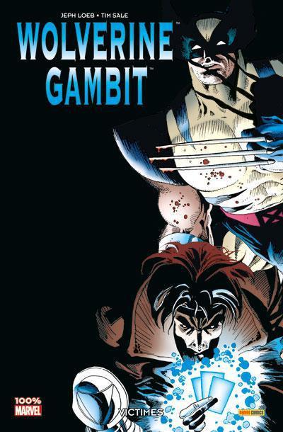 Couverture Wolverine ; Gambit ; victimes