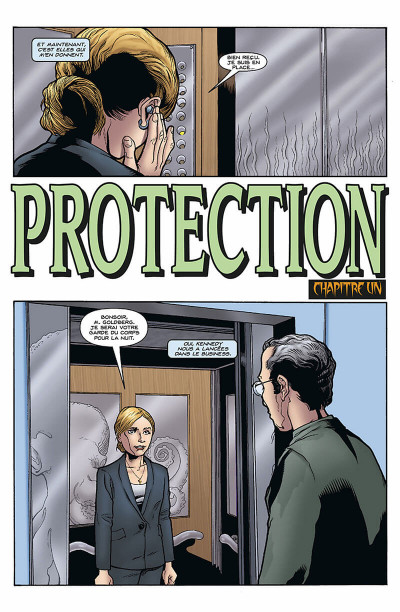 Page 7 Buffy contre les vampires - saison 9 tome 3 - protection